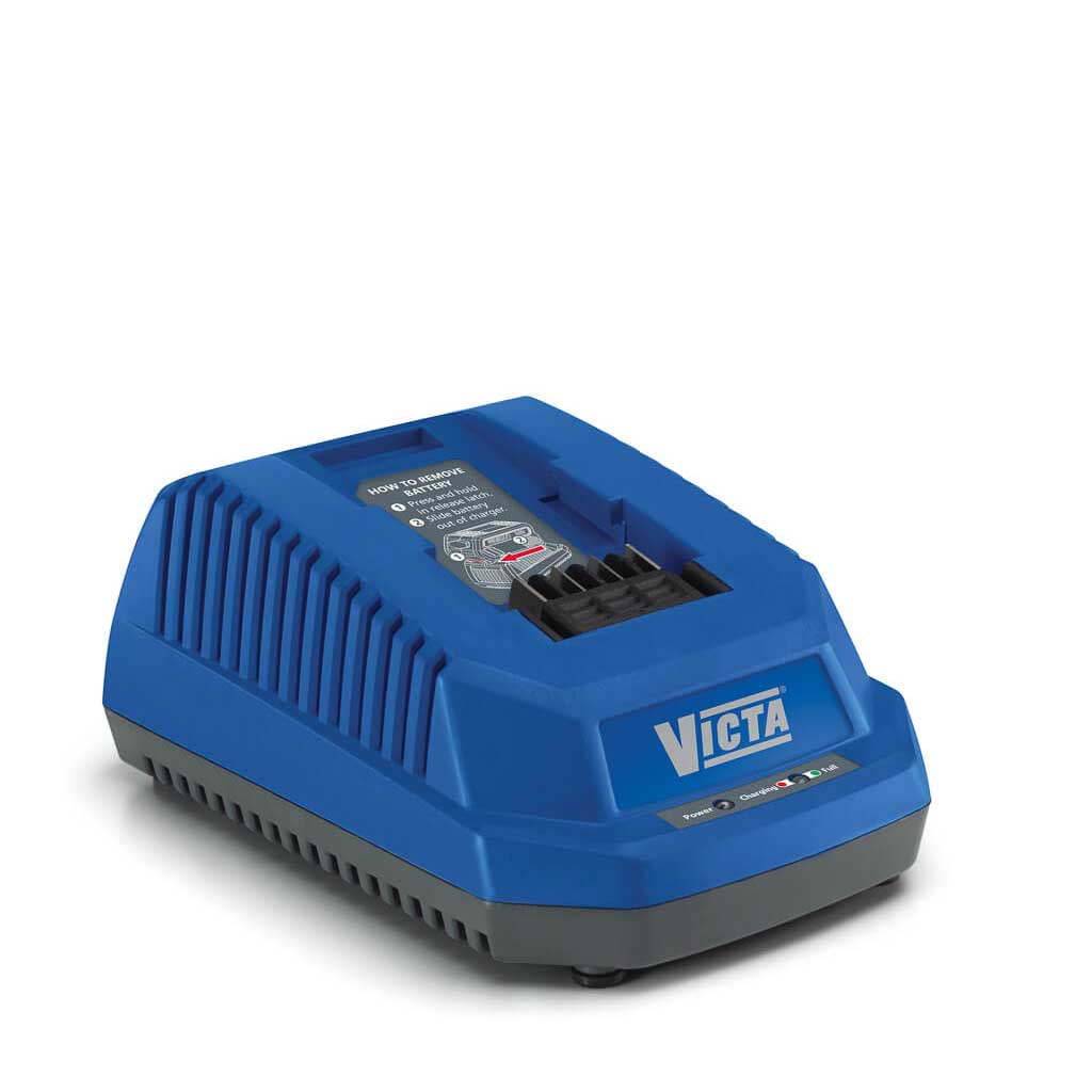 Victa V Force Lithium Ion Battery Charger Green Island Mower Centre